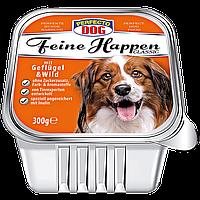 Консерва для собак Перфекто паштет с птицей (Perfecto Dog Германия) 300 г