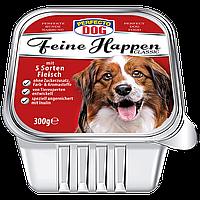 Консерва для собак Перфекто паштет 5 видов мяса (Perfecto Dog Германия) 300 г
