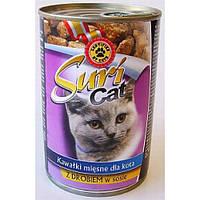 Консервы для котов Suri cat (Польша), 400 г