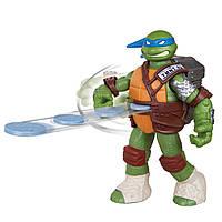 Фигурка Черепашки Ниндзя с метательным механизмом Леонардо из США Ninja Turtles Flingers Mike