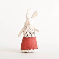 Мягкая игрушка авторской ручной работы заяц украшение детской комнаты