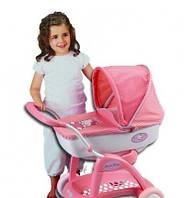 Коляска с люлькой для куклы Hello Kitty Smoby 523132