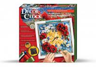 """Набор для творчества часы своими руками """"Часы Decor Clock 1"""", Danko Toys"""