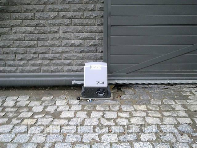 Автоматика для откатных ворот faac 741 привод