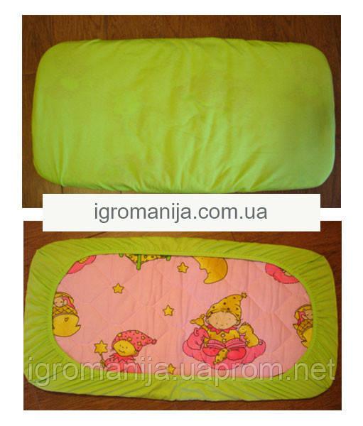 Простынь в детскую кроватку на резинке