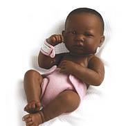 Berenguer, кукла темнокожая, девочка 36 см