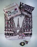Постельное белье Karaca Home Paristime полуторный