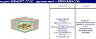 Комфорт Плюс двусторонний - Ортопедический матрас на пружинном блоке