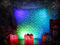 Подушка Новогодняя светящаяся