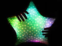 Подушка Новогодняя Звездочка светящаяся