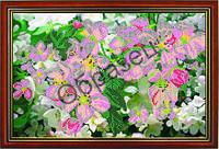 """Схема для вышивки бисером """"Цветы вишни"""""""