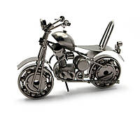Мотоцикл из металла, сувенир, подарок байкеру