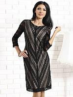 Женское вечернее платье с кружевом. Модель Bona Top-Bis.