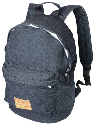 Джинсовый городской рюкзак 17 л. Poolparty Jeans backpack-jeans