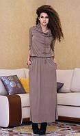 Платье в пол вискоза, фото 1