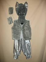 """Детский карнавальный костюм """"Серый Волк"""" для детей от 3-х до 7-ми лет"""