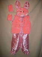 """Карнавальный костюм детский """"Розовый Поросенок"""" для детей от 3-х до 7-ти лет"""