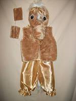 """Карнавальный костюм детский """"Бежевая Лошадь"""" для детей от 3-х до 7-ми лет"""