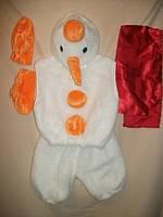 """Карнавальный костюм детский """"Снеговик"""" для детей от 3-х до 7-ми лет"""