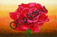 """Схема для вышивки бисером """"Алая роза"""""""