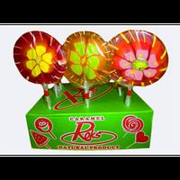 Карамель Леденец на палочке Цветы 3D Roks