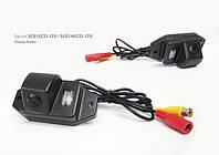 Штатная камера заднего вида Toyota Prado 120 (Falcon SC01 HCCD-170)