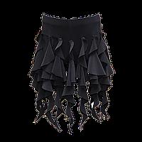 Женская юбка для танцев с шортами