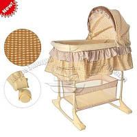 Детская колыбель - кроватка Bambi M 1542