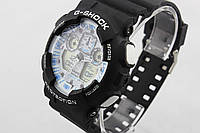 Часы наручные Casio G-Shock ga-100 Black-White CA129
