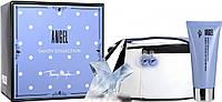 Набор оригинальнальной парфюмерии Thierry Mugler Angel 50ml+100b/l+косметичка NNR ORGAP /7-96
