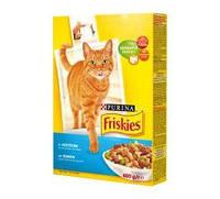 Корм для котов Friskies с лососем и овощами 10кг