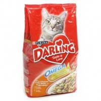 Корм для котов Darling с птицей и овощами 10кг