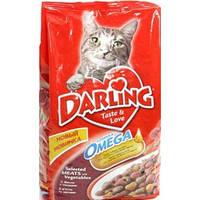 Корм для котов Darling с мясом и овощами 10кг
