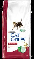 Корм для котов Cat Chow Special Care Urinary для здоровья мочевыводящей системы 15кг