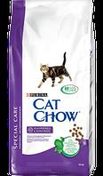 Корм для котов Cat Chow Hairball для контроля образования комков шерсти 15кг