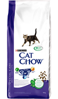 Корм для котов Cat Chow 3в1 15кг