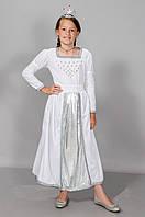Карнавальный костюм  Золушка Снегурочка Снегурка подростковая