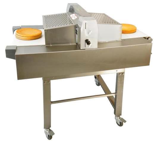 Вертикальная машина для нарезки бисквитов