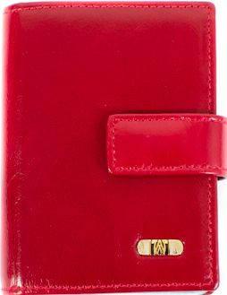 Карманная кожаная визитница WANLIMA (ВАНЛИМА) W50080230457-red