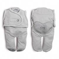 Спальный мешок для детей от рождения до 6-8 месяцев kiddy bliss / цвет: серый