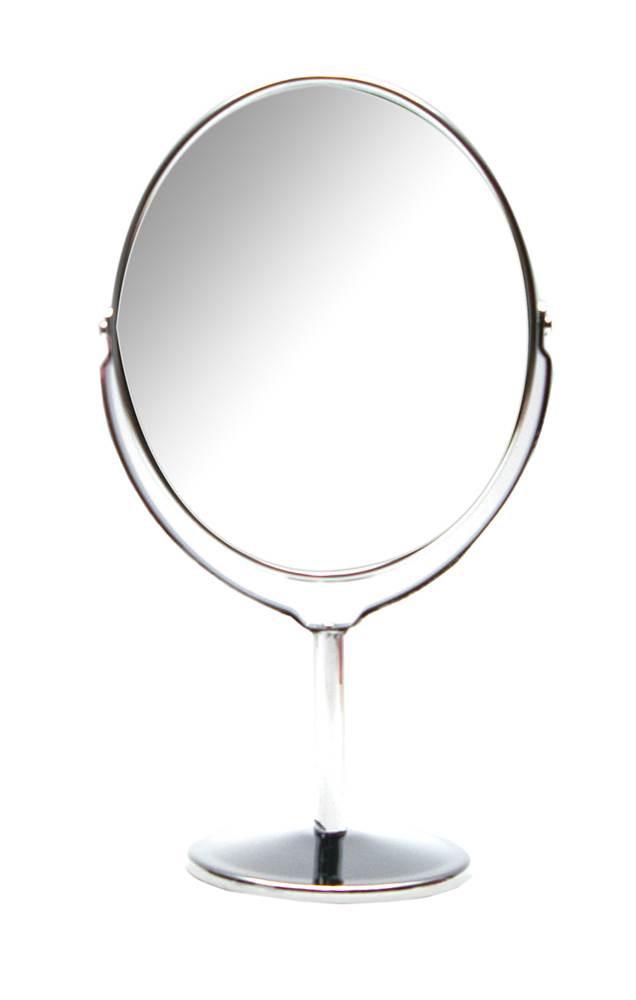 Зеркало овальное настольное