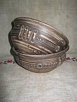 Миска глиняна з наліпкою 0,33л