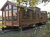 Комплектные перевозные до30м2 домики из бруса времянка бунгалло, , навесы...