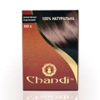 Chandi - Лечебная аюрведическая краска для волос. Коричневый - 100 г ( EDP40802 )