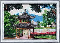 Набор для вышивки бисером Китайский садик БФ 328
