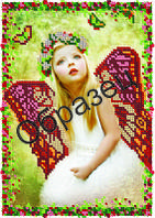 Схема для вышивки бисером «Маленькая фея»