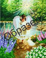 Схема для вышивки бисером «Ангел»