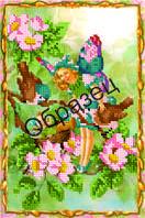 Схема для вышивки бисером «Весенний эльф»