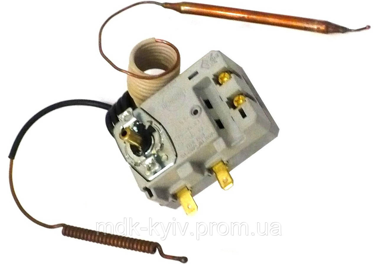 TBSB 70/105 C - Комбинированный однофазный термостат, Ts=105 C, 2 капилляра - регулировочный и защитный, цена 523,90 грн., купит