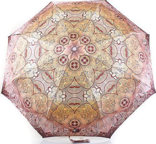 Модный женский зонт, автомат DOPPLER (ДОППЛЕР) DOP74665GFGA-1 Антиветер!